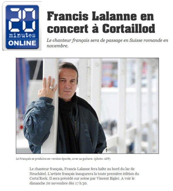 Corta'Rock 2011 Francis Lalanne et Vincent Bigler.
