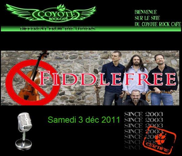 Fiddlefree.En concert.
