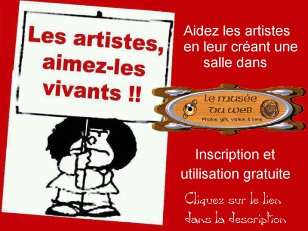 Les artistes.