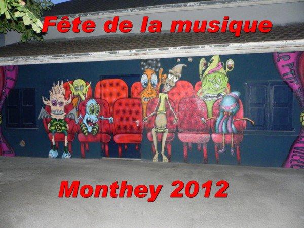 Fête de la musique. Monthey 2012.