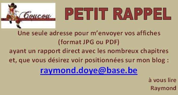 Vos affiches sur le blog de  Raydodo..