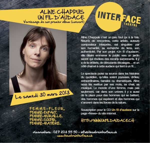 Aline Chappuis. Vernissage.