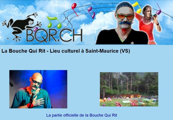 La Bouche Qui Rit. Site officiel.
