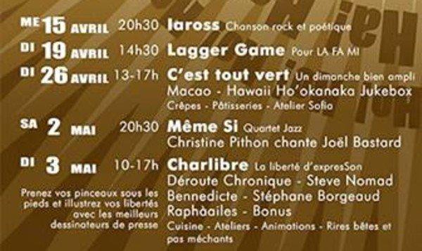 La Bouche Qui Rit , Printemps 2015