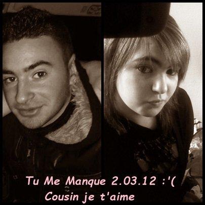 Cousin & moi