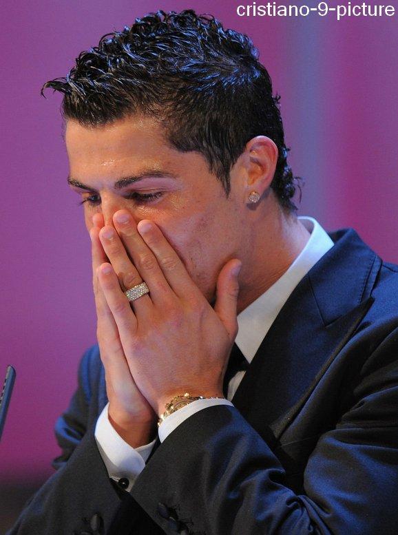 Souvenir : Cristiano meilleur joueur de l'année 2008