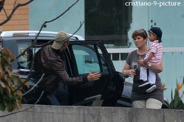 Cristiano à Madère