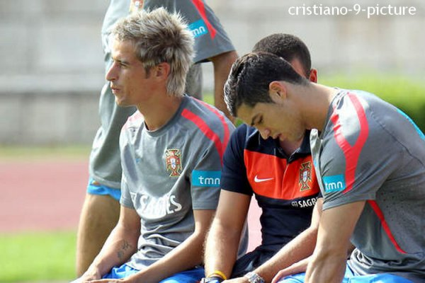 Cristiano, entrainement avec le Portugal, 25/05/11