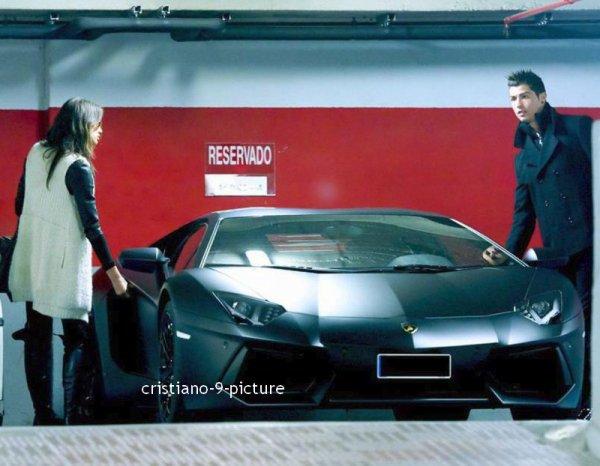 Cristiano et Irina Shayk à Madrid