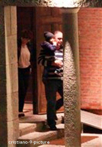 Cristiano Junior à la soirée d'anniversaire de Fabio Coentrao