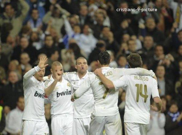 Real - Malaga, 18/03/12