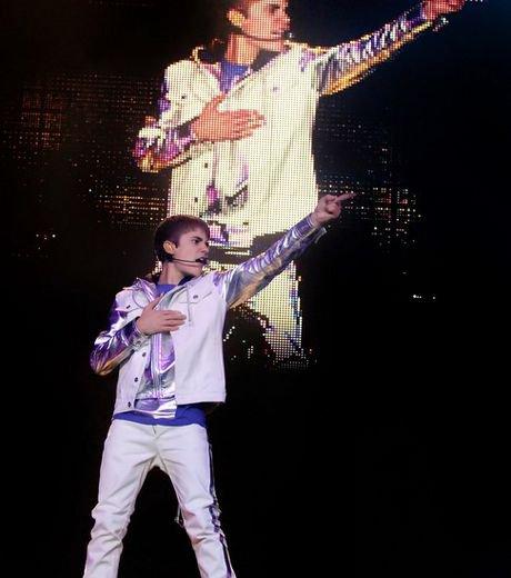 Justin Bieber a Liverpool !