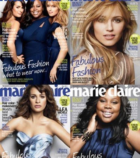 Les filles de Glee posent pour Marie-Claire !
