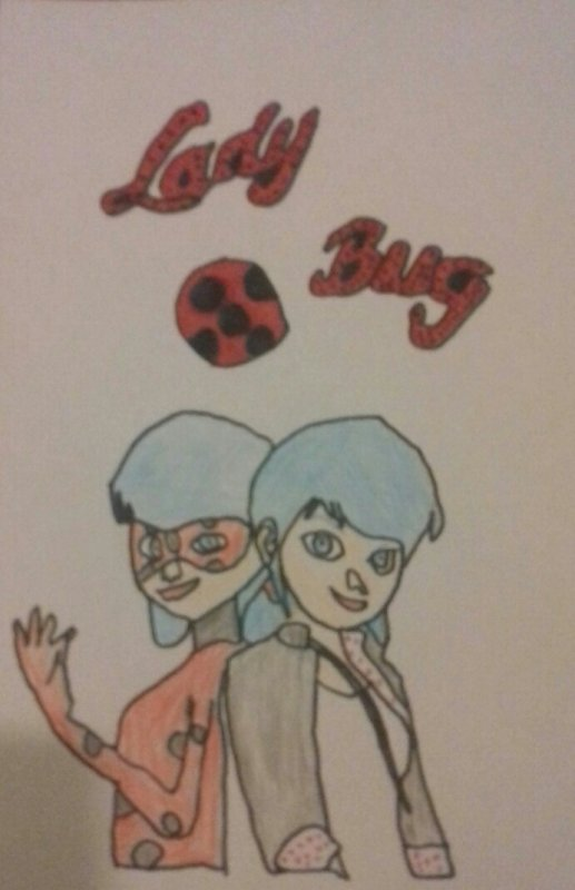 Petit dessins de ladyBug