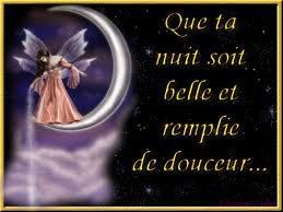 Sous les ailes du grand sommeil trouve une foi de plus la paix pour cette nuit et soit comblé de ses meilleurs cadeaux que sont les rêves aux couleurs arc-en-ciel
