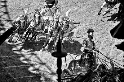 Black and white photography from parc du puy du fou, France