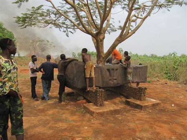 Marteau d'afrique a yohonou