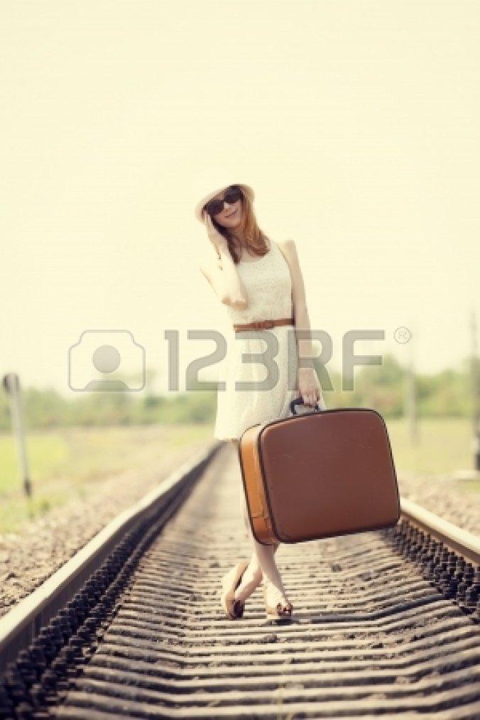 Prendre le train hors gare