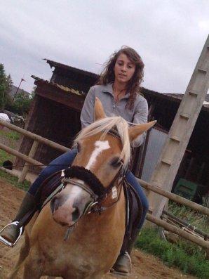 Nous avons reçus la visite de Anne lise ...♥  et demain elle revient hey hey