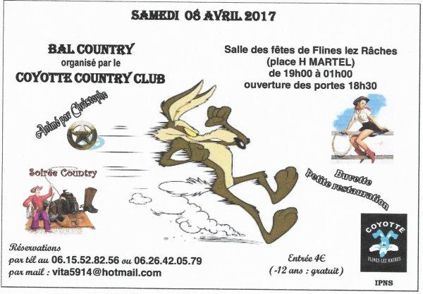 Bal Des Coyottes 8 avril 2017