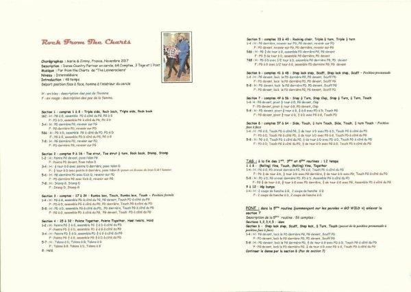 Rock from the charts Chorégraphie de Marie et Jimmy danse Country PDF
