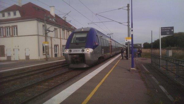 Un dimanche à la gare de Dannemarie