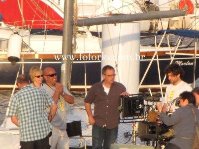 Fotos exclusivas na Marina da Glória – Robsten, Bill Condon e mais!