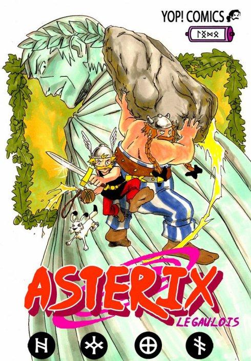 Une autre version de Naruto... Astérix no densetsu !