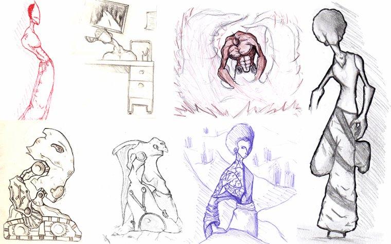 sketchs perso 2011