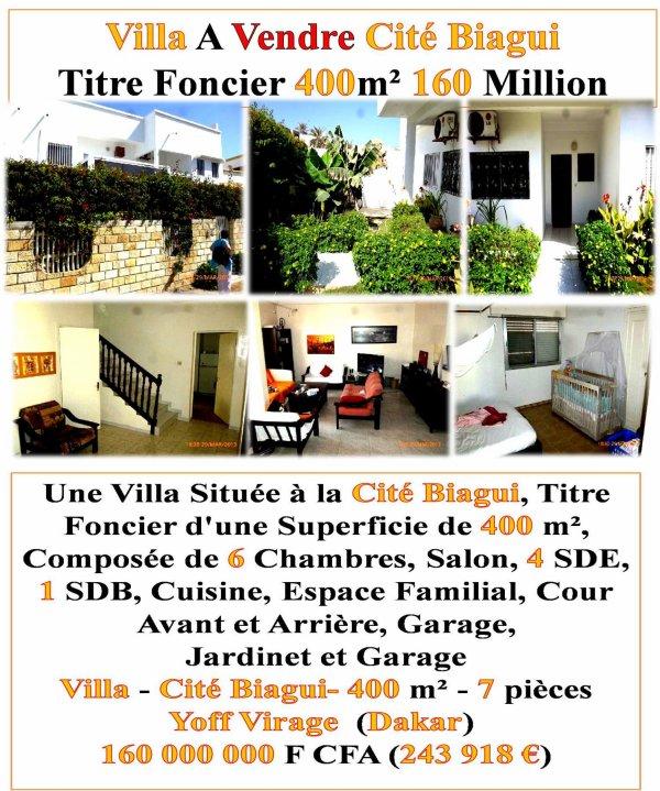 L`Immobilier Au Senegal, C`est Avec Nous +221 772690151