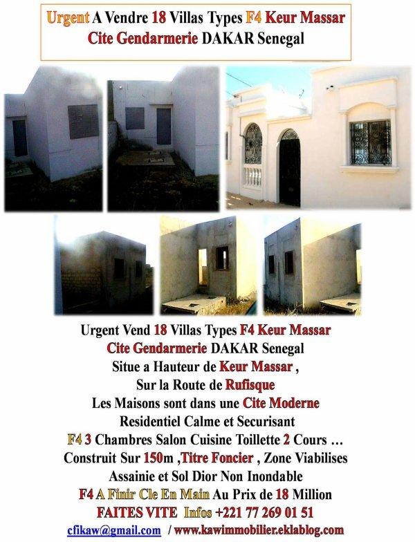 L`Immobilier Au Senegal C`est Avec Nous +221 77 269 01 51