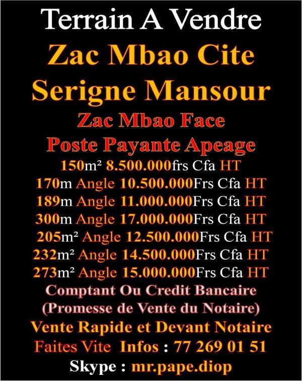 L`lmmobilier Au Senegal C`est Avec Nous +221 772690151