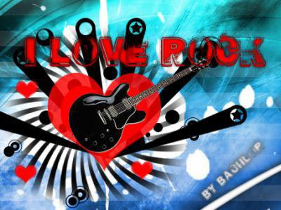 i love musique and guitare