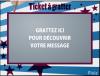 Tiket a grater xD