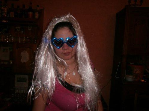 moi en mode lady gaga :)
