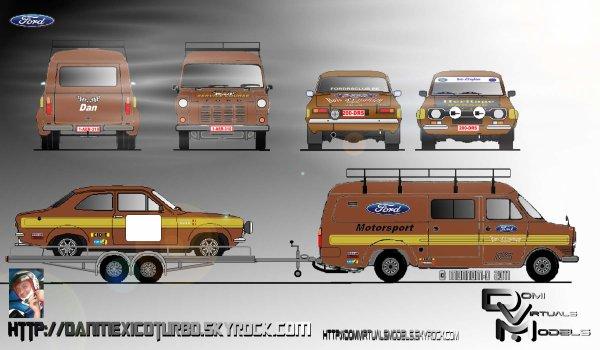 Ford Transit MK1 et Escort MK2