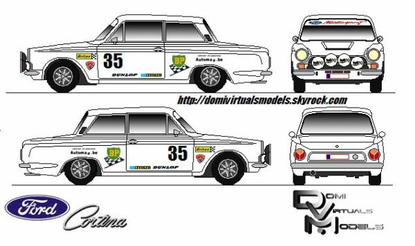 Ford Cortina GT mk1