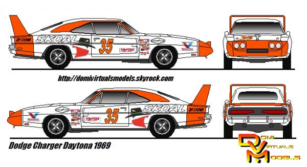 Dodge Charger Daytona 1969