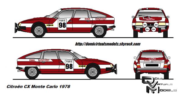 """Citroën Cx """"Monte Carlo 78"""""""