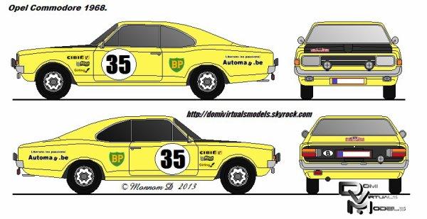 Opel Commodore 1968