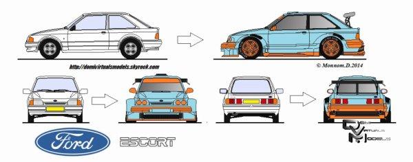 Ford Escort MK3 1986