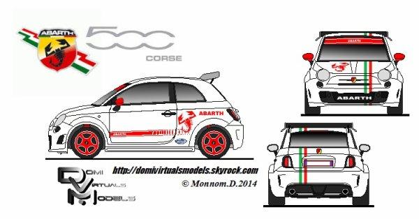 """Abarth 500 """"Corse"""""""
