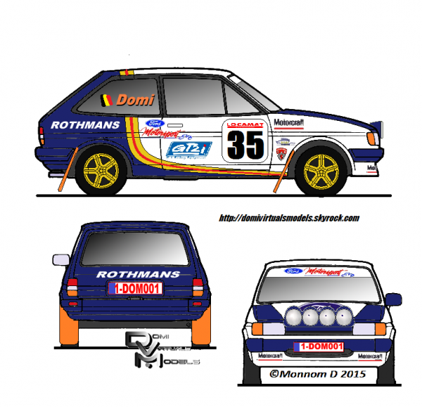 Ford Fiesta MKII 1983
