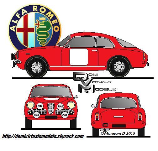 Alfa Romeo sprint 1963