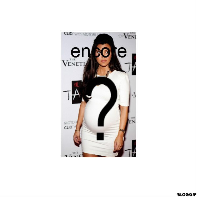 Rumeur: Kourtney Kardashian ENCEINTE ?