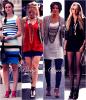 Série: Look des personnages de Gossip Girl .