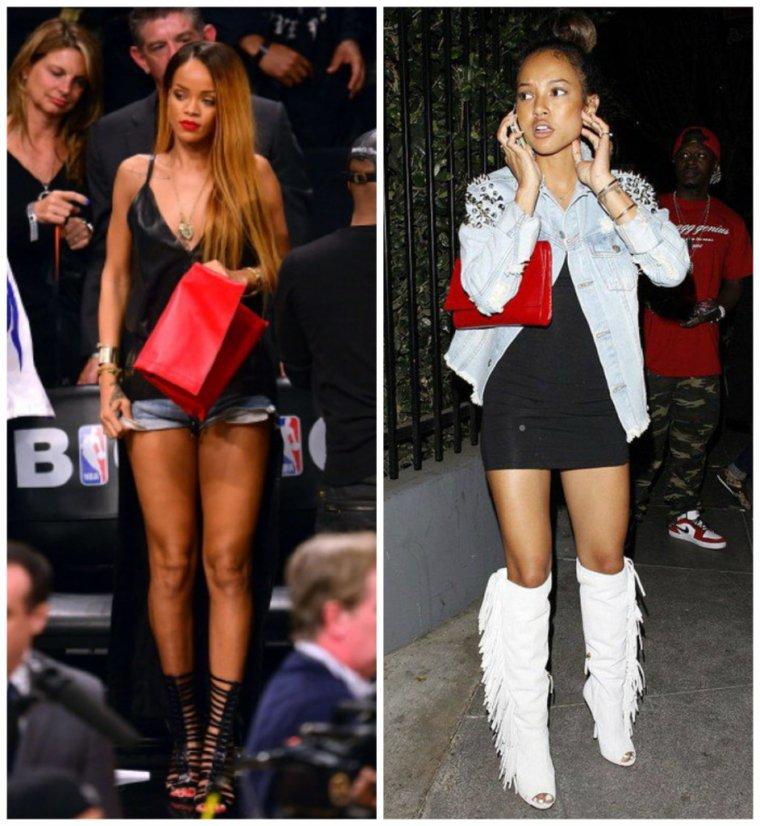 DUEL : Rihanna VS Karrueche Tran !