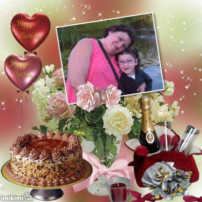 06-10-2015 : Bon Anniversaire à ma Petite Soeur Peggy (33 ans)