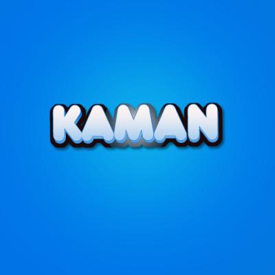Logo Kaman et slogan