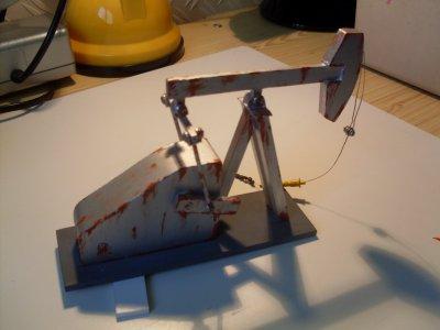 Diorama californie pompe p trole bienvenue sur le blog de dioramas 1 64 - Pompe a petrole ...
